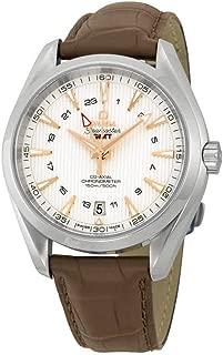 Omega Seamaster Aqua Terra GMT Chronometer Silver Dial Men's Watch 23113432202004