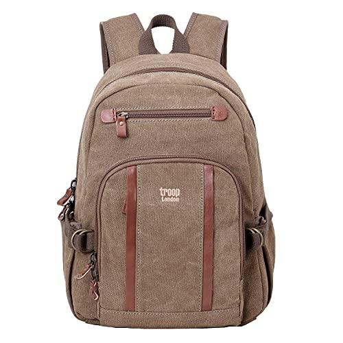 TRP0256 Troop London Classic Medium Backpack (Brown)