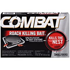 Combat roach control Kills roaches and eggs for 3 months No vapor, fumes or odor Child resistant bait stations Active ingredient contains Hydramethlnon