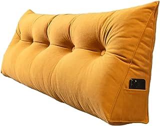 Premium Soft Reading & Bed Rest Pillow لينة اللوح الأمامي صخر المستعند دعم القراءة وسادة النهار وسادة مملوء الثلاثي تعزيز ...