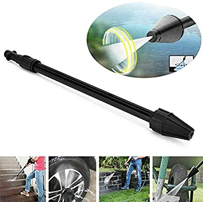 YUET High Pressure Wash Car Turbo Washer Dirt Jet Lance Spray Nozzle Blaster Cleaner Rotating Power Rotary Adjustable Nozzle Cleaning Accessories Kit for Karcher K1 K2 K3 K4 K5 K6 K7 Tool from YUET