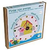 Arenart   Lámina Reloj CU-Cut Ø30 cm   para Pintar con Are