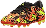 adidas Nemeziz Messi .3 MG J, Zapatillas de fútbol, Rojsol/Amasol/NEGBÁS, 38 EU
