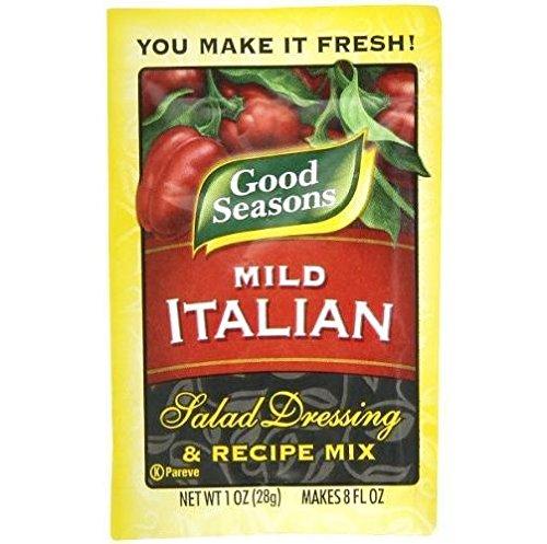 Good Seasons Mild Italian Dressing Mix (Pack of 4) 1 oz Packets