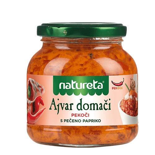 ETA Domaci Ajvar pekoc hausgemachte Gemüsemischung scharf Natureta 290g