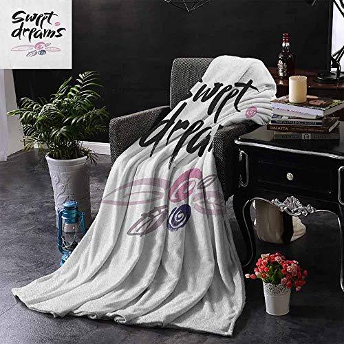 ZSUO Vier seizoenen lichte en super zachte hand getrokken samenstelling van snoepjes met belettering ontwerp op warme achtergrond warm & hypoallergeen wasbare bank/bed gooien