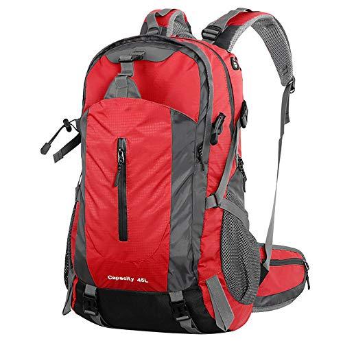 45L Alpinisme Extérieur avec Rain Cover zippée Sacs à Dos pour Randonnée Sportive