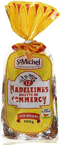 St Michel 12 Madeleines Recette de Commercy Pur Beurre 300 g