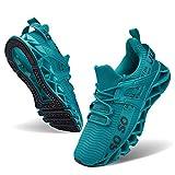 JSLEAP Herren Laufschuhe Sportschuhe Straßenlaufschuhe Sneaker Herren Tennisschuhe Fitness Schuhe (3-Blau,Größe 44 EU/270 CN