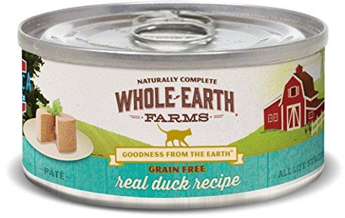 Whole Earth Farms Grain Free Receipe, 2.75 oz, Duck, 24 Count