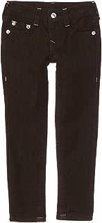 Girl's Black Overdye Single End Skinny Jeans