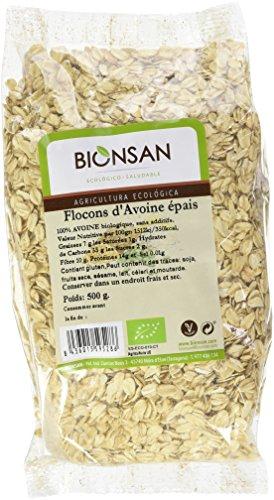Bionsan - Flocons d'Avoine Épais Biologiques | 500 gr