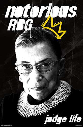 Trends International Ruth Bader Ginsburg (RGB) Wall Poster, 22.375' x 34', Unframed Version