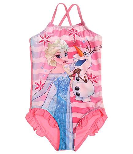 Disney El reino del hielo Chicas Traje de baño - Rosa - 128