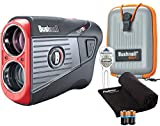 Bushnell Tour V5 Shift (Slope) Golf Laser Rangefinder Patriot Pack PlayBetter Bundle | +Carrying Case, Divot Tool, PlayBetter Microfiber Towel, Two Batteries | Pinseeker Jolt, 6X Mag | 201911P