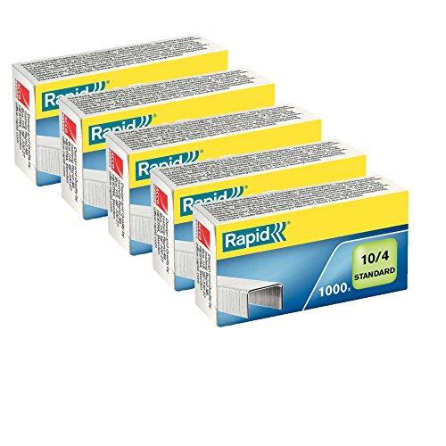 RAPID 24863000 - Caja 5000 grapas 10/4 mm Standard galvanizada