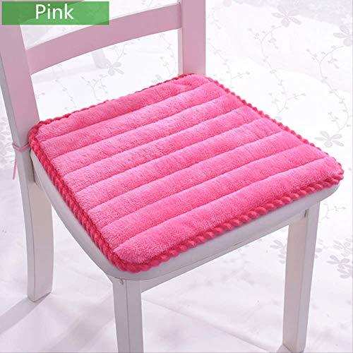 Sitzkissen Trapezförmiges Stuhlkissen Winter Warm Stuhlkissen Sitzmatte für Home Office Quadratische Sitzkissen können auf Stuhl befestigt werden