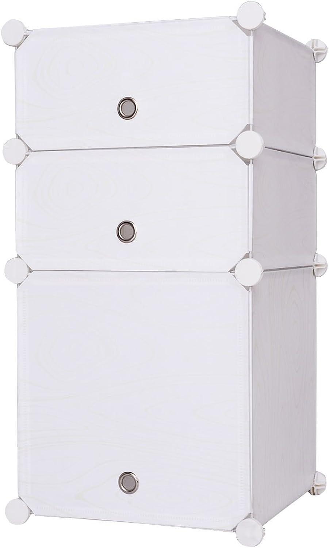 Tangkula Storage Cabinet Portable Home Furniture DIY