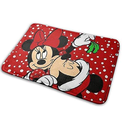 xianhaotaojiafa - Felpudo para interior, diseño de Mickey Mouse y Navidad