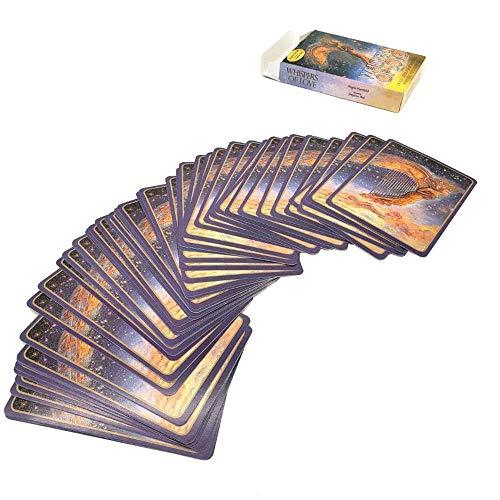 JILIGALA Neue 50 Blatt Orakelkarten - Flüstern der Liebe, 10,2 × 7,2 cm