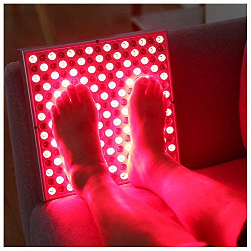 Puzzle Infrarotlampe 45W Anti-Aging-Infrarotlicht Therapie Rot 660nm Nahinfrarot 850nm 225LEDs Rotlichttherapie-Panel Hautschmerzlinderung LED Grow Light