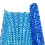 Cobertor Cubierta Fundas para Piscinas, Cubierta de piscina solar rectangular,...