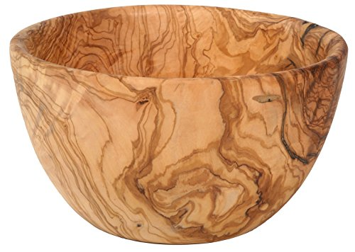 Salatschüssel Olivenholz Durchmesser 30-31 cm