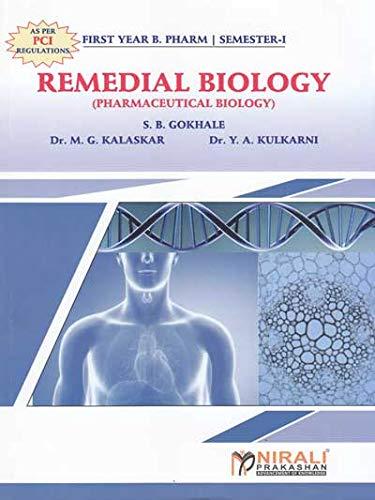 Remedial Biology Pharmaceutical Biology