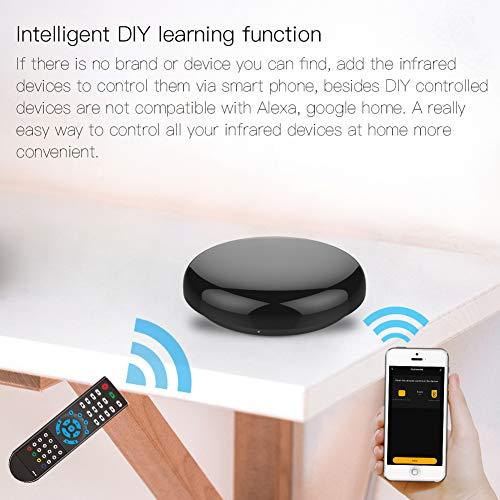 yunlink Hub di controllo IR WiFi Smart Home Blaster Telecomando senza fili a infrarossi tramite Smart Life Tuya APP Lavora con Alexa