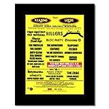 Music Ad World Mini-Poster, Motiv Lese/Leeds Festlich 2008