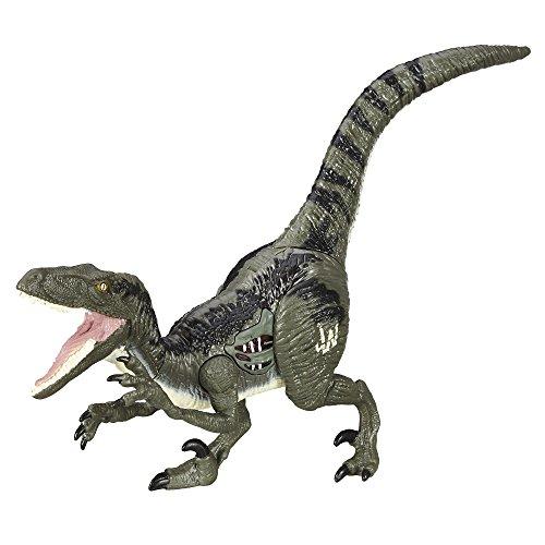 Jurassic World Figura Growler Velociraptor, Blue
