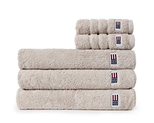 Lexington Toalla de baño 100% algodón 50x100-600 g/m2 Moonbeam