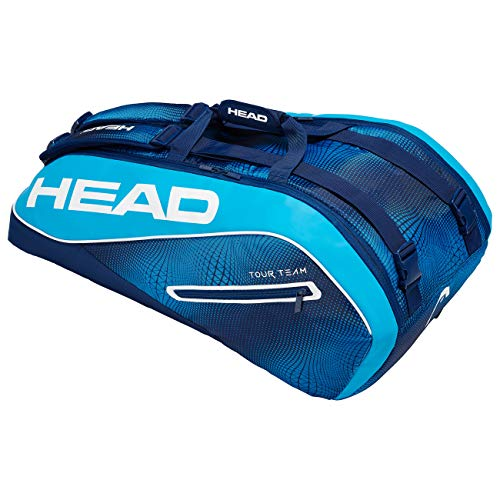 Head Tour Team 9R Supercombi Bolsa de Tenis, Adultos Unisex, Navy/Azul