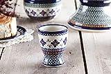Bunzlauer Keramik GLÜHWEINTASSE Glühweinbecher Tasse Becher Rumbecher 200 ml