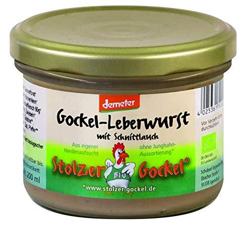 Demeter Gockel Leberwurst mit Schnittlauch 200ml