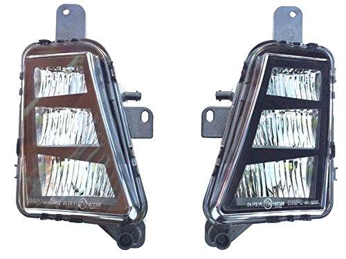 Nebelscheinwerfer LED NSW Nachrüstung Set Rechts + Links Golf VII 7 GTI GTD