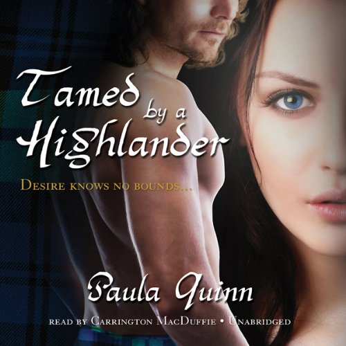 Tamed by a Highlander audiobook cover art