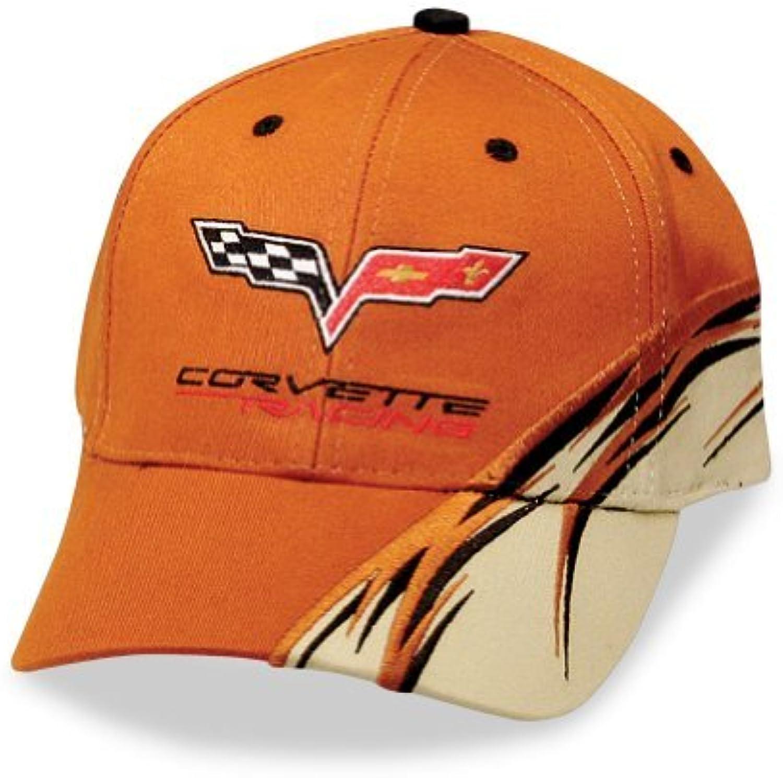 barato y de moda Corvette Racing naranja Flash Hat   C6 Logo by by by West Coast Corvette  en venta en línea