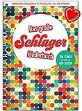 Cancionero «Das große Schlager». Cada canción viene con líneas melódicas, letra y acordes. Con clip colorido en forma de corazón