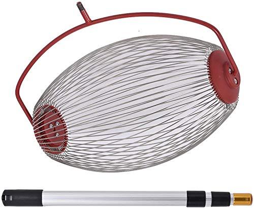 Nut Roller for Acorns Rake,Pecan Picker Upper with Sweet Gum Ball Golf Collector