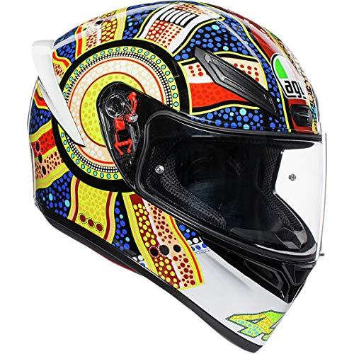 AGV Unisex-Adult Full Face K-1 Dreamtime Motorcycle Helmet (Multi, Medium/Large)