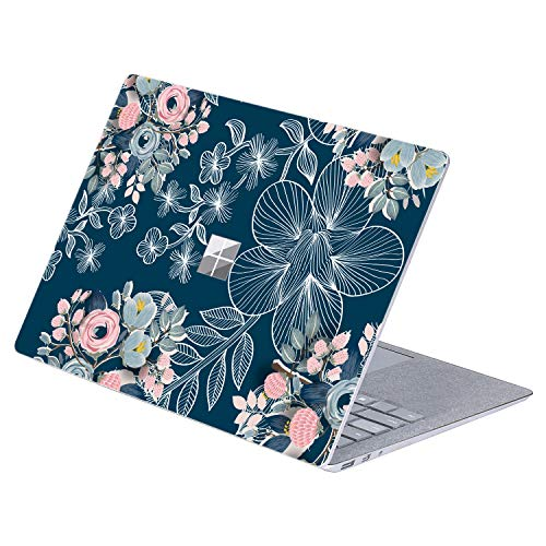 Masino 1 PCS Top Sticker Protective Decal Protector Laptop Cover Skin for 13' 13.5 inch Microsoft Surface Laptop 1/2 (2017 & 2018 Released) (for 13.5' Surface Laptop, Paper-Cut- Green Castle)