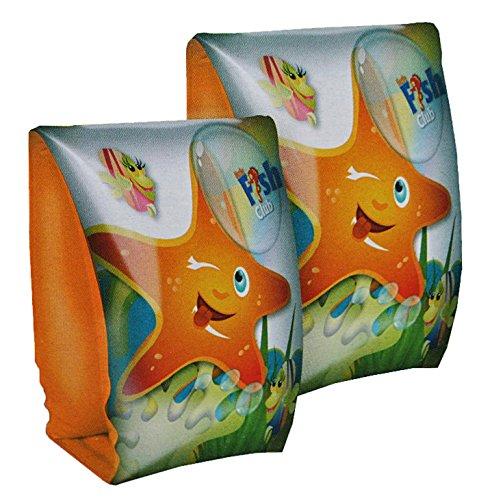 alles-meine.de GmbH Schwimmärmel Seestern 1,5 bis 6 Jahre - Schwimmflügel Schwimmhilfe Seestern Seepferdchen für Kinder Kind