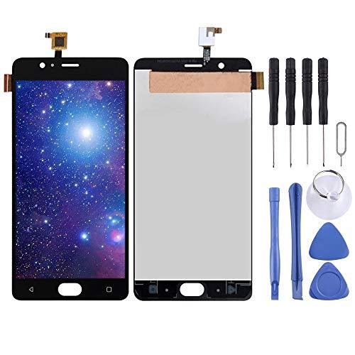 Dongdexiu Piezas de Repuesto del teléfono Celular Pantalla LCD y Conjunto Completo de digitalizador for Elephone P8 MAX (Color : Black)