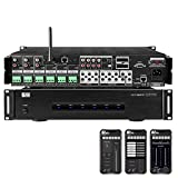 OSD Nero Max 12 Channel Multi Room Amplifier 6 Source Integrated 80W iOS/Android App Control (Keypad Optional)