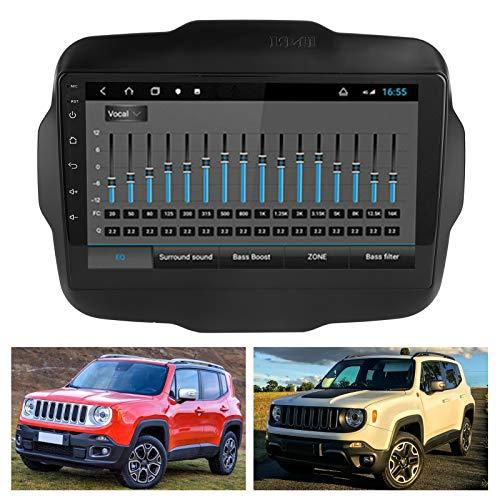 Car Navigator, Car Navigation System WIFI y USB de alta definición para Renegade(WiFi version 2+32G, Pisa Leaning Tower Type)