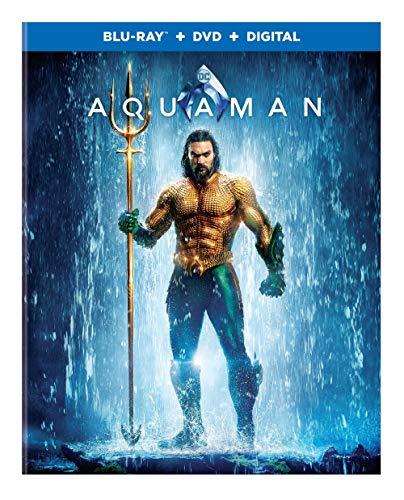 Aquaman 3D Blu-ray + Blu-ray + Digital Copy Now $15 (Was $34.99)