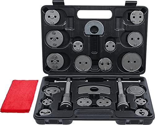 BGS Diy 1110-47000 | Jeu de repousse-pistons de frein | 22 pièces + 1 serviette offerte