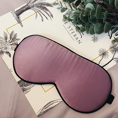 Latex Silk Augenmaske Männer Und Frauen Nacht Mittagspause Schlafmaske Augenmaske Heimreise Zu Helfen Schlafen Multifunktionale Linderung Augenermüdung Augenmaske 3