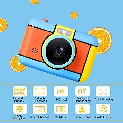 WLHER Digital Kinderkamera, Kinder Kamera Mit 2,4-Zoll-HD-Touchscreen, 28MP 1080P Farbdisplay & 32GB SD Karte, Fotoapparat Digitalkamera, Spielzeug Für Draußen
